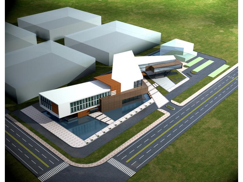 江苏某办公楼建筑设计