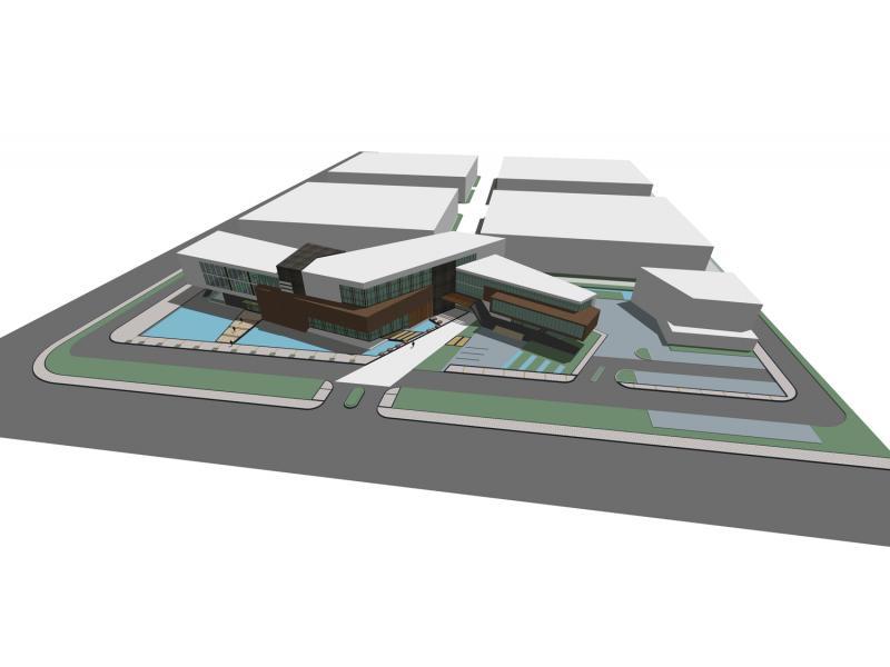 江苏某办公楼建筑设计图片