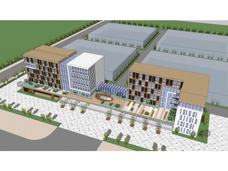 科技生态办公楼设计方案