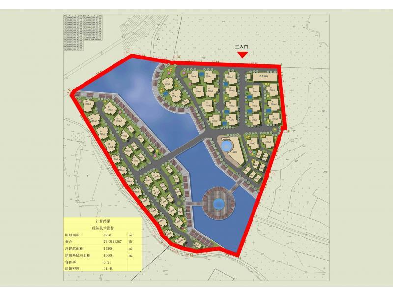 养殖池设计平面图