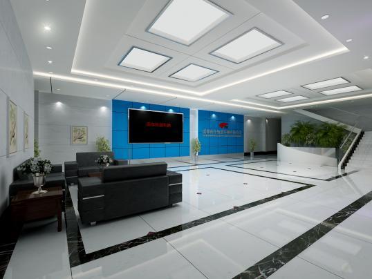 大厅效果图-设计群网图库