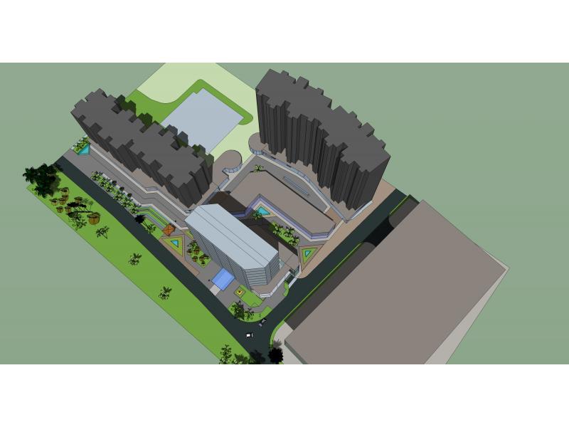 动漫主题商业街空间概念规划-总图-投标鉴赏-设计群网