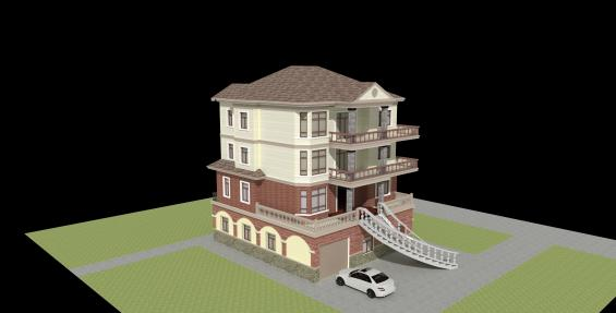 30wan 农村小别墅设计图展示