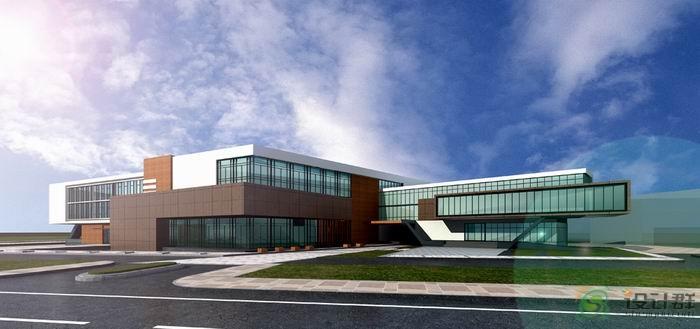 工厂科技研发办公楼设计方案精彩点评图片