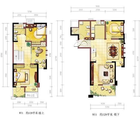 80平方一厅四房设计图有楼梯