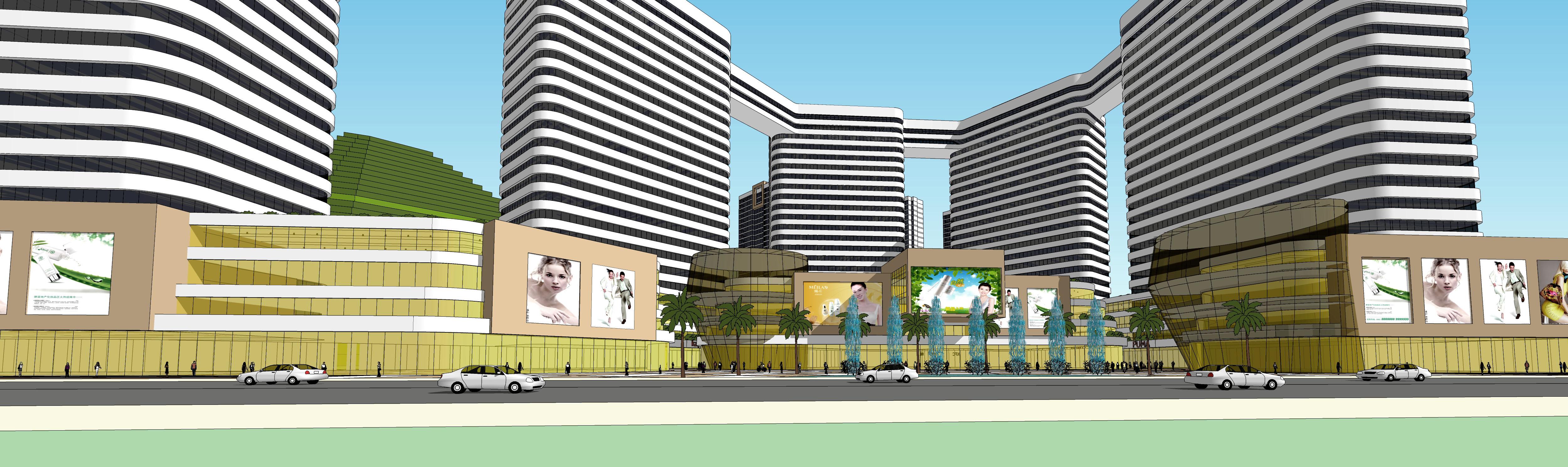 商务办公城市设计