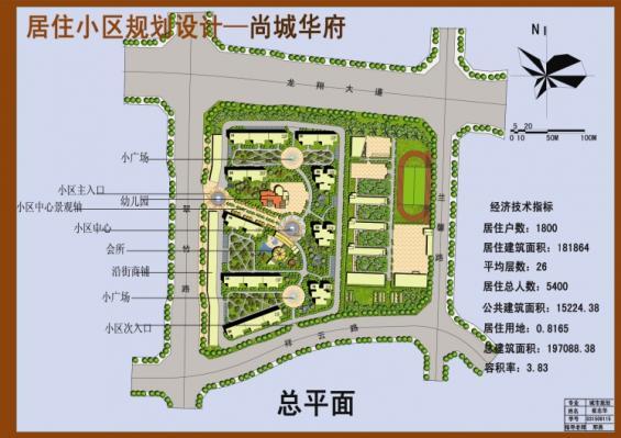 居住区规划设计-设计群网图库