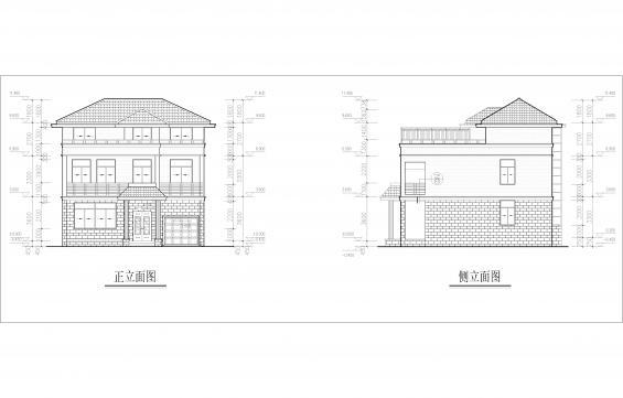 a-无尚划法-a06号-中国风绿色自建房