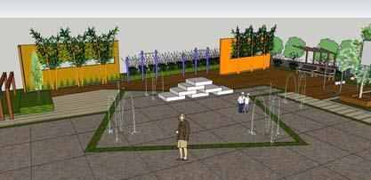 小区健身广场-设计群网图库
