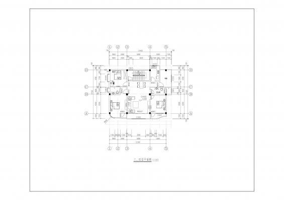 镜子山-a04号-五层自建房-设计群网图库