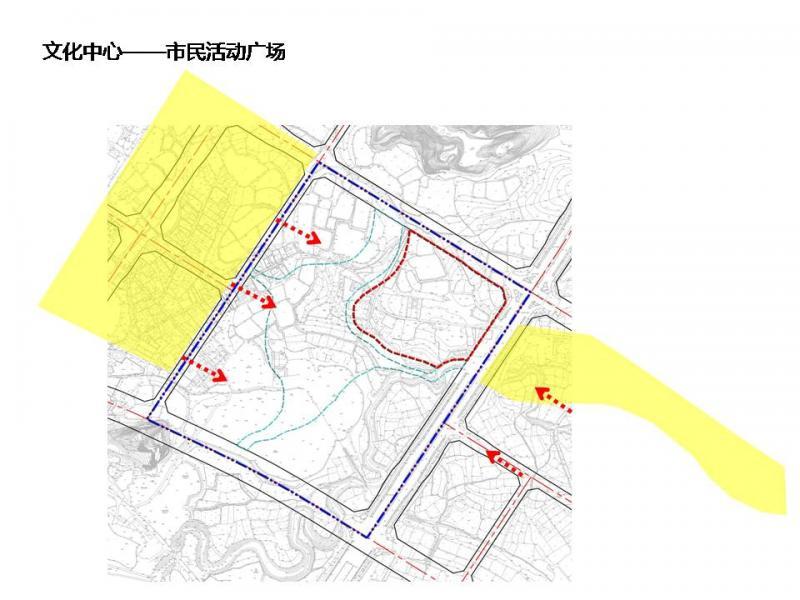 方案结合韶关城市定位和自然历史文化特点进行分析,在深入认识城市功能发展要求的基础上,研究城市空间、建筑风貌、城市肌理等要素进行设计,同时需充分考虑合理利用土地,提高土地利用率,合理分区,各功能区既相对独立又能统筹使用,实现资源共享。