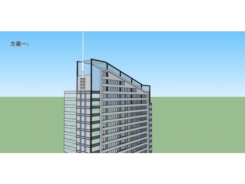 19层办公楼立面设计
