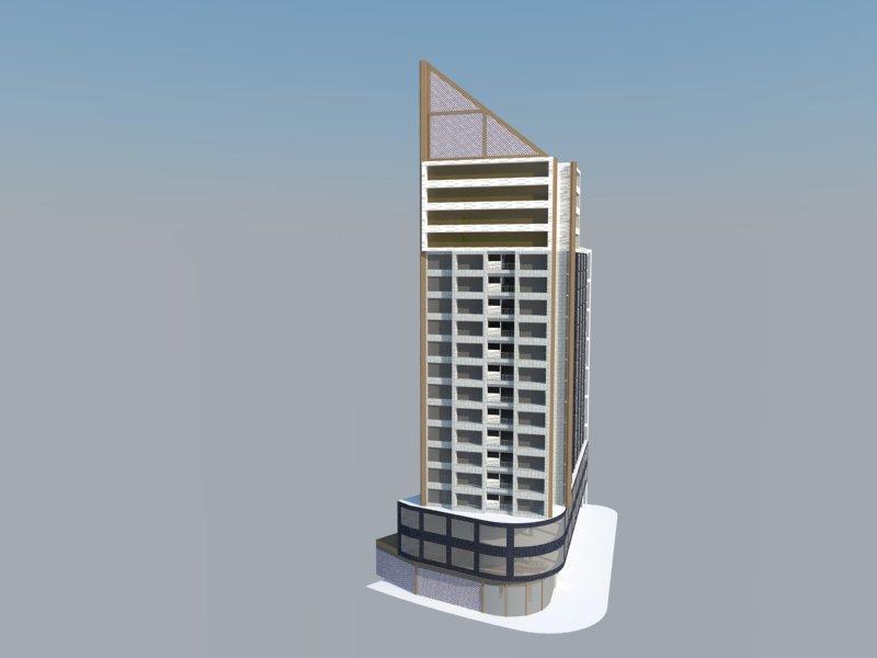 精雕细刻——办公楼立面设计
