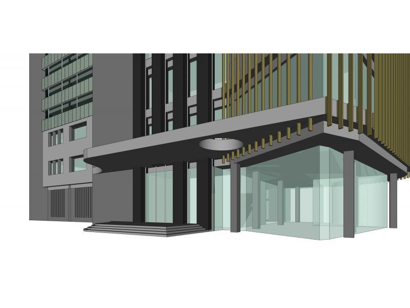 【点评】高层办公楼立面设计方案_每周一评_云课堂_群