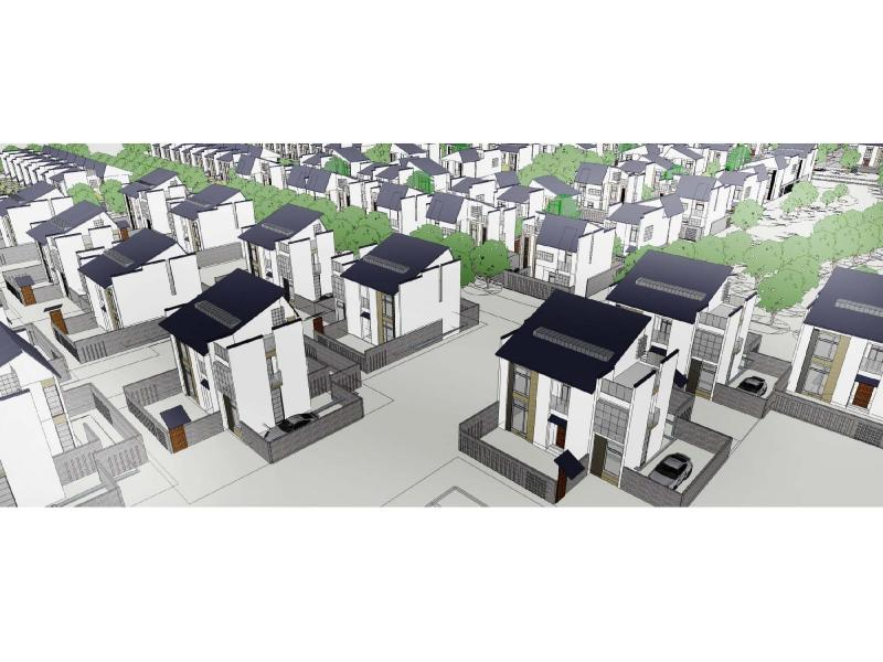 新徽式别墅建筑设计方案