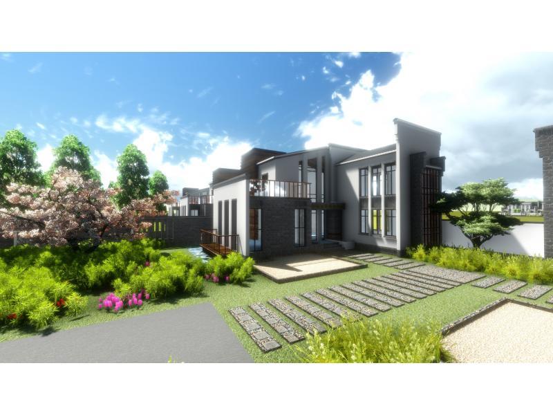 徽式别墅设计图图片