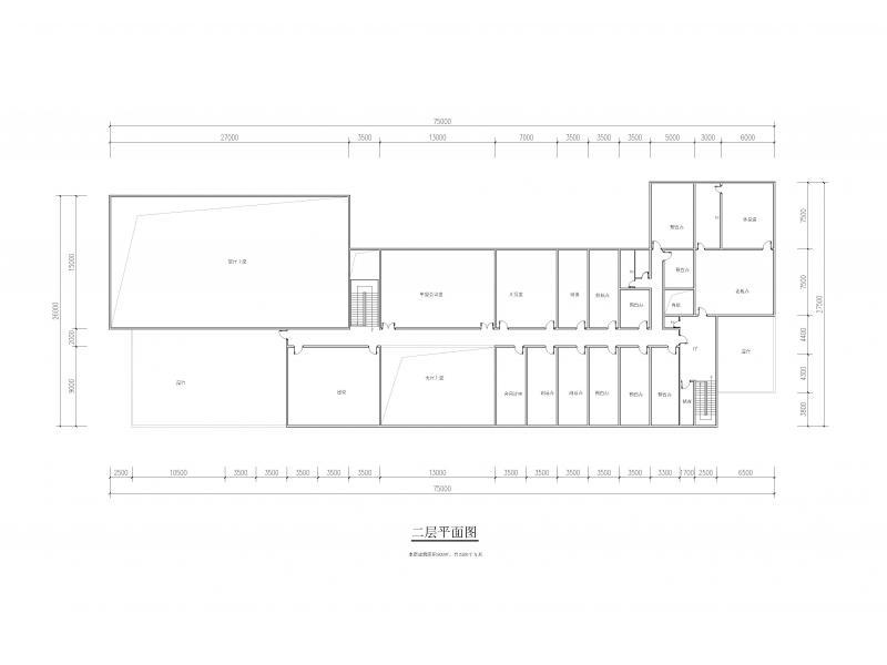 景观设计:建筑结合水体一体化,办公楼门前景观结合停车场进行图形设计