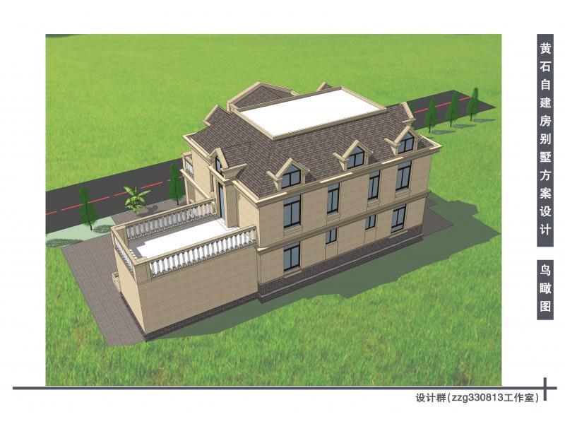黄石自建房别墅设计方案