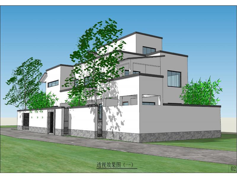 3+1合宅----黄石自建房