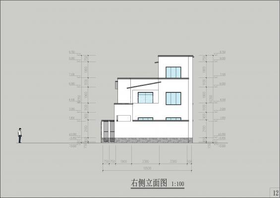 黄石自建房项目详细图纸