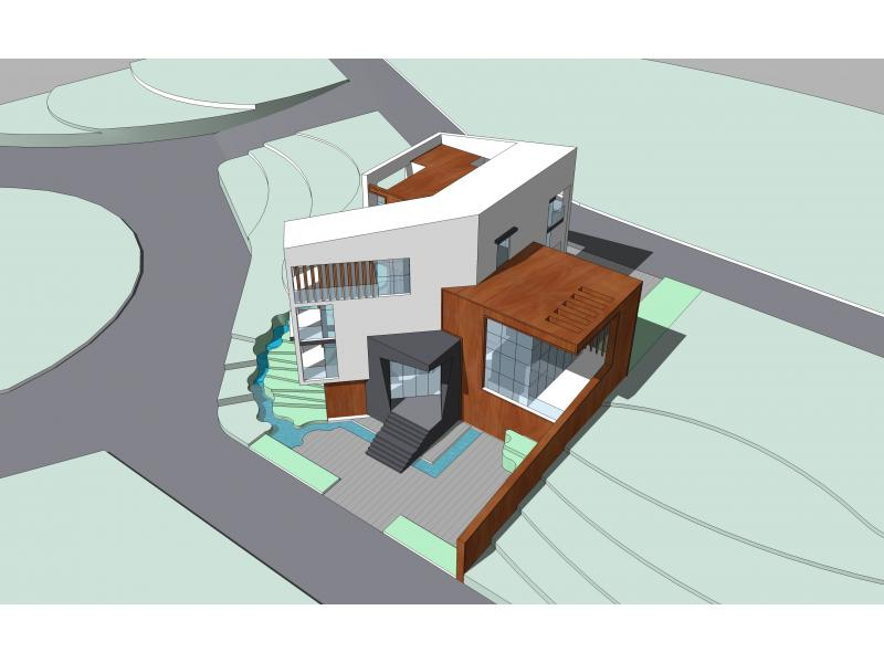 地别墅立面设计