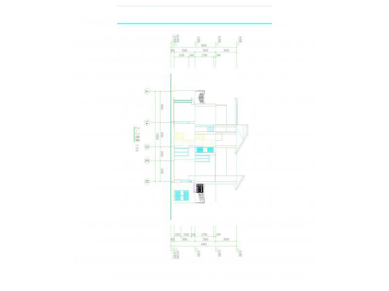 普通农村铁房厨房设计图