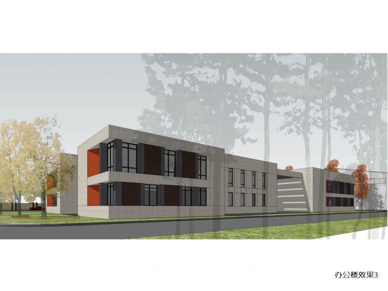 办公楼立面设计   办公楼方案设计带效果图   楼房侧立面建筑
