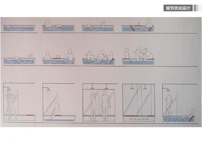 回复@王雪松:整体分体智慧; 依附管道设置的可旋转家具提高了空间使用效率。整体的家具分体后可以形成更多的功能和可利用容器空间,这样的优化使使用者在自己动手的过程中获得创造的智慧。 细节优化设计:门口挂衣服的地方设置带有透明容器的衣服挂钩,容器内可放置零钱,出门买菜坐公交不会忘记带零钱 当然,容器内可放置其他物品。 置入自然秩序:现代建筑在发展过程中使人类的生活越来越远离自然,无论发展程度如何,都无法否认人类来自自然从属自然的事实。在室内置入具有自然野风趣味的可移动屏风隔断,或有自然质朴材质的容器,使居住