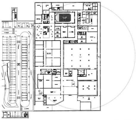 正方形城市广场设计平面图