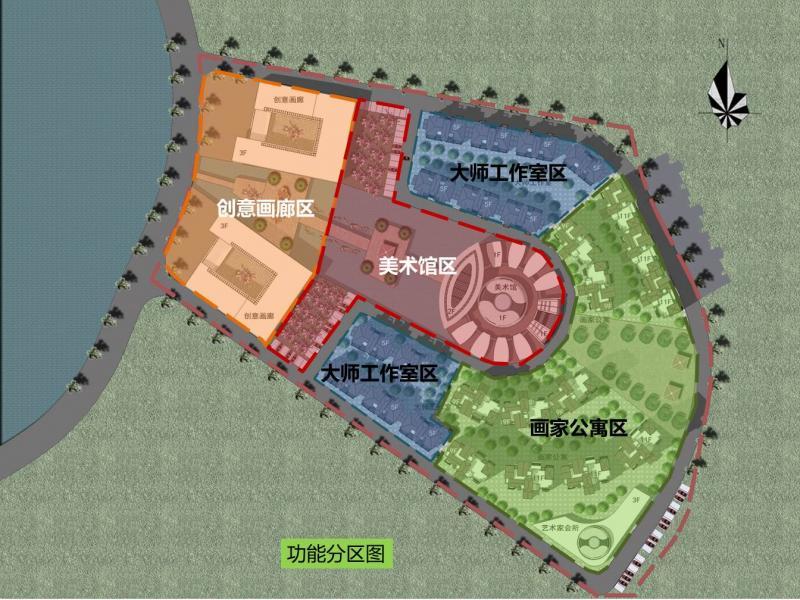 亚洲书画艺术中心国际艺术区项目设计