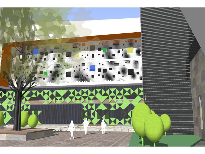 福海幼儿园外观设计