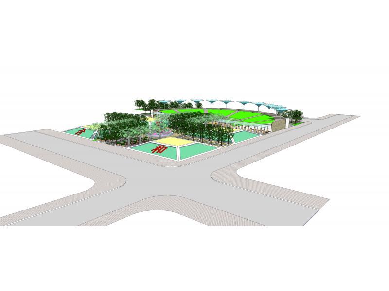 """井冈山中学""""和合""""文化主题广场规划设计"""