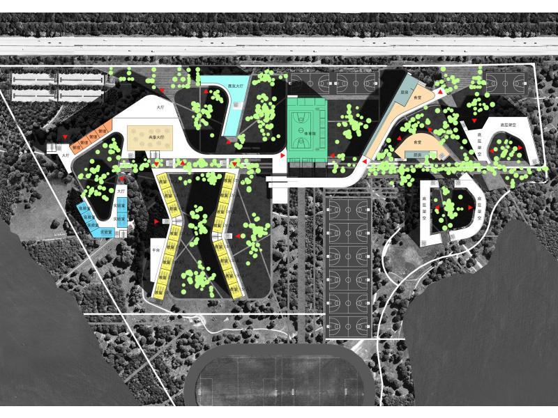 中小学校绿色设计图片