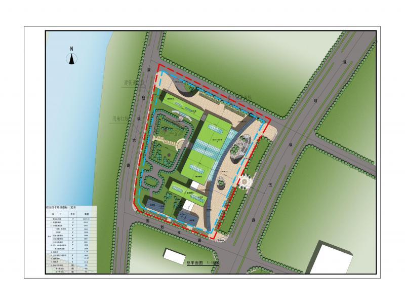 中小型综合医院绿色建筑设计方案