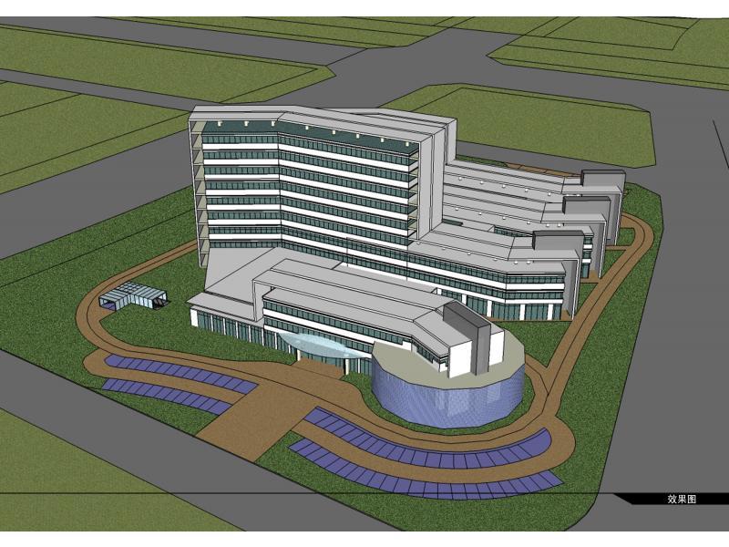 中小型综合医院设计