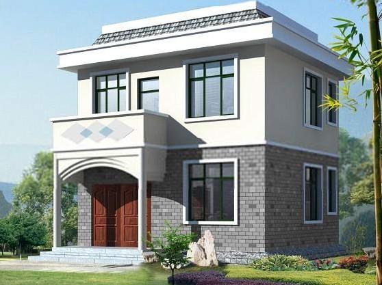 十一套两层农村自建房设计图集