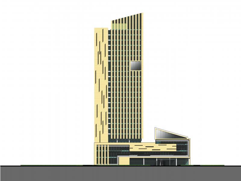 云南酒店立面设计