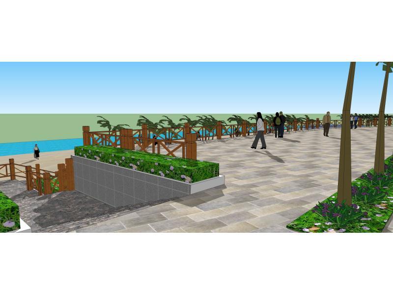 滨海休闲观景区景观设计