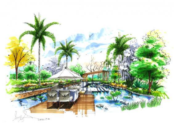 景观手绘设计