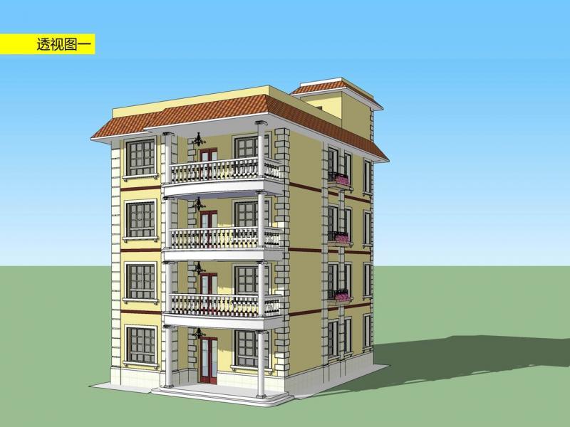 新农村自建房设计