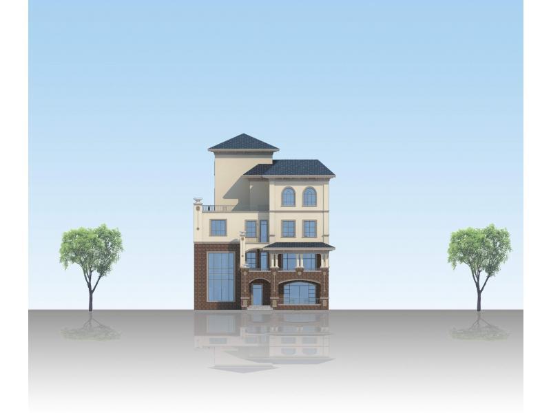 新农村自建房方案设计-投标鉴赏-设计群网