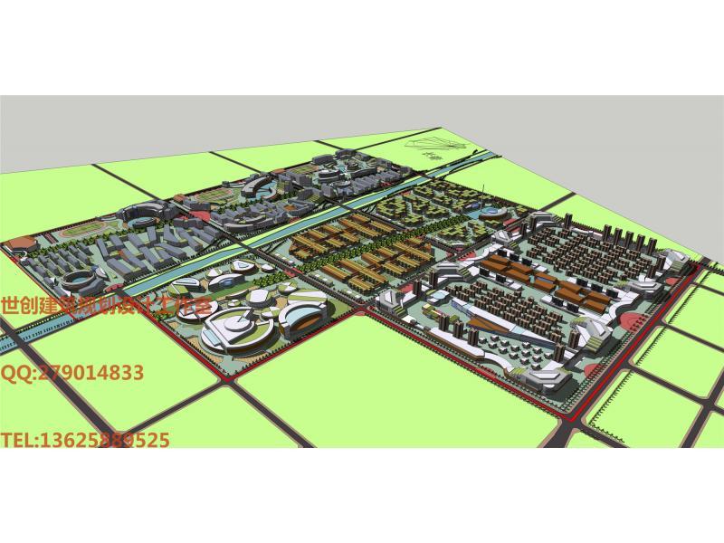 吉林大学城-投标鉴赏-设计群网