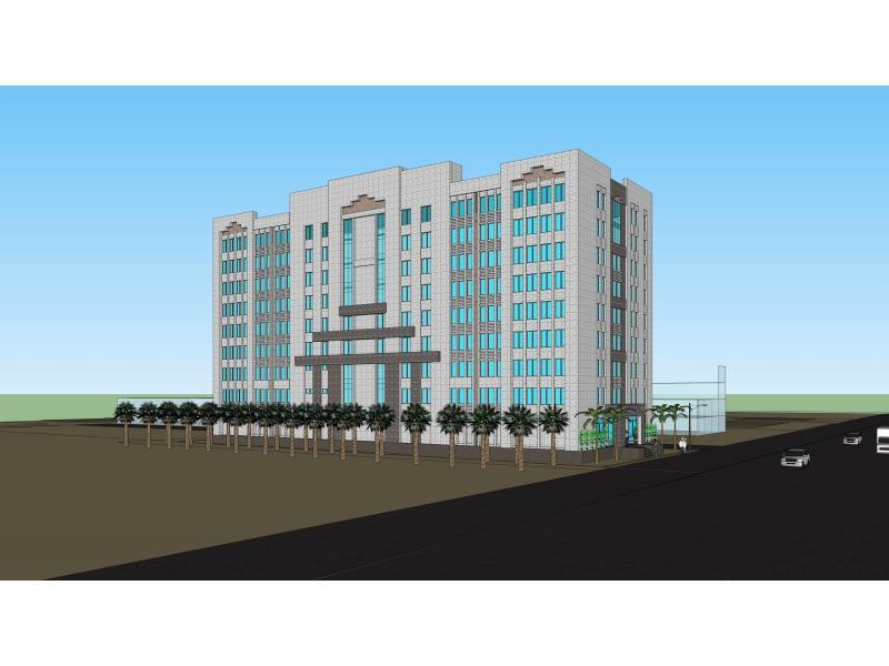 国外办公楼立面设计——当国旗变成建筑