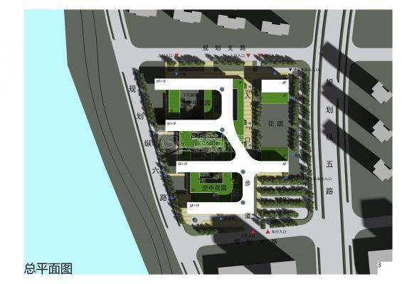 设计群网第三届绿色建筑竞赛-医院设计