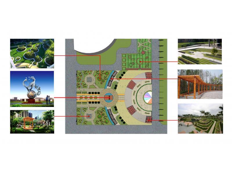 校园广场设计案例鉴赏