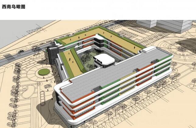 福海幼儿园的设计方案_建筑文章_建筑设计讨论_绿色