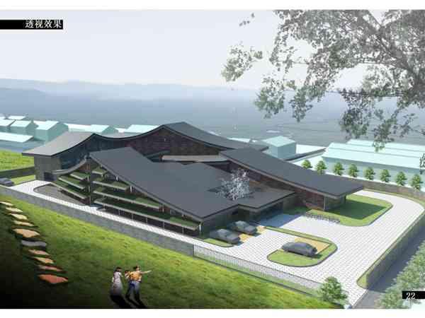 新型社区作品竞赛建筑设计问题居住区景观设计中农村图片