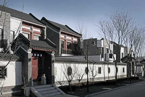 国内八大新中式建筑