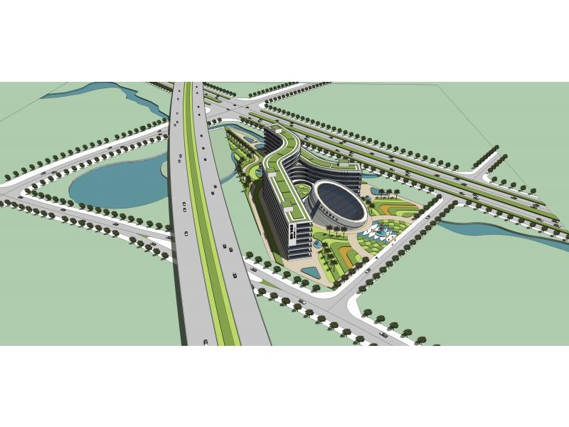 动漫产业园概念规划项目设计