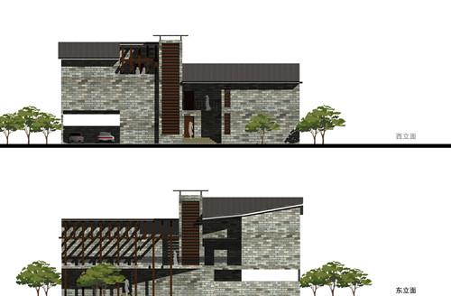 葡萄架下的小屋——绿色节能建筑方案
